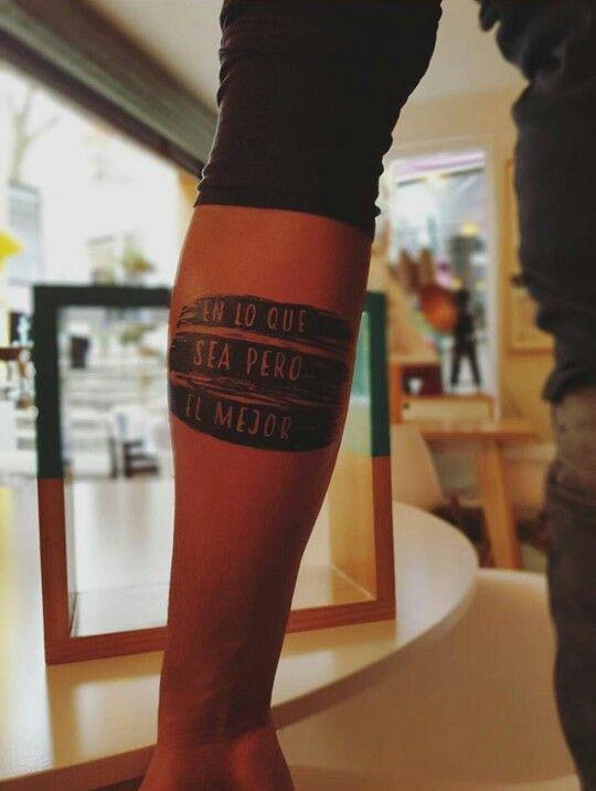 Tatuaje -Frase Nach
