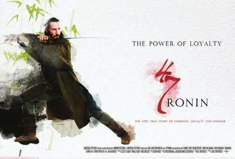 47 Ronin starring Keanu Reeves in samurai battle with Japanese ronin has finally arrived.  The classic Japanese tale of honor and revenge has gotten Keanu's Kung Fu treatment. He stars as Kai, a ronin himself who joins Oishi in a quest to restore the Asano family name. After the evil Kira compels Asano to kill himself, the 47 Ronin plot their revenge. Kai and Oishi pretend to be a couple of party animals, lulling Kira into letting his guard down.