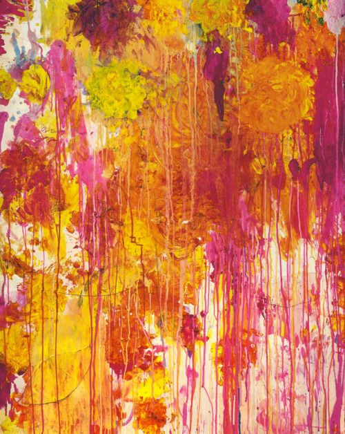 yellow | orchid | orange: Cy Twombly, Colour, Abstract Art, Art Inspiration, Colors, Cytwombly, Pink, Artist, Paintings