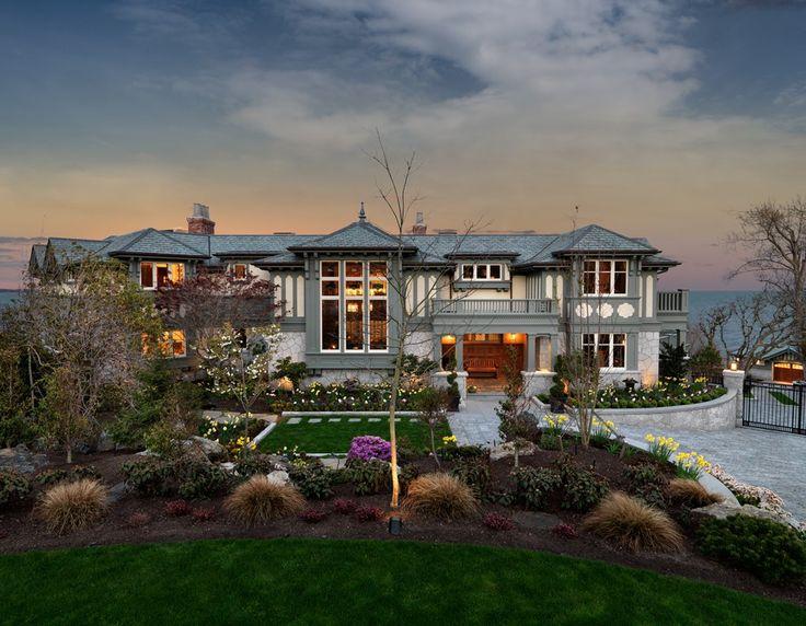 M.Knight Construction Custom Estate Home on Beach Dr in Oak Bay