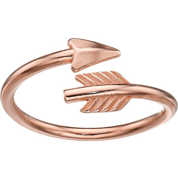 Alex and Ani Love Struck Arrow Wrap Ring ($28) ❤ liked on Polyvore featuring jewelry, rings, 14 karat gold ring, adjustable rings, 14k ring, alex and ani and wrap ring