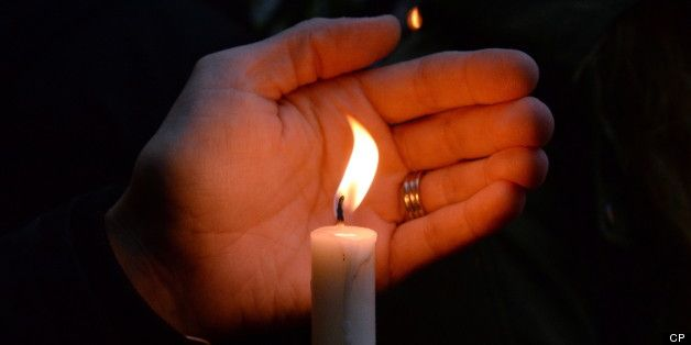 Vigil in Moncton, NB