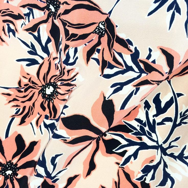 graphic floral by Liz Casella / studio print