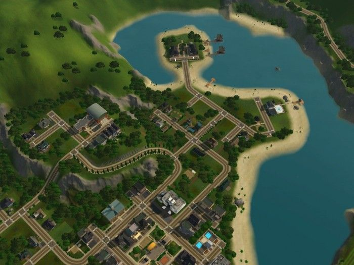 Meadow Glen cozy little town by My Sim Realty - Sims 3 Downloads CC Caboodle