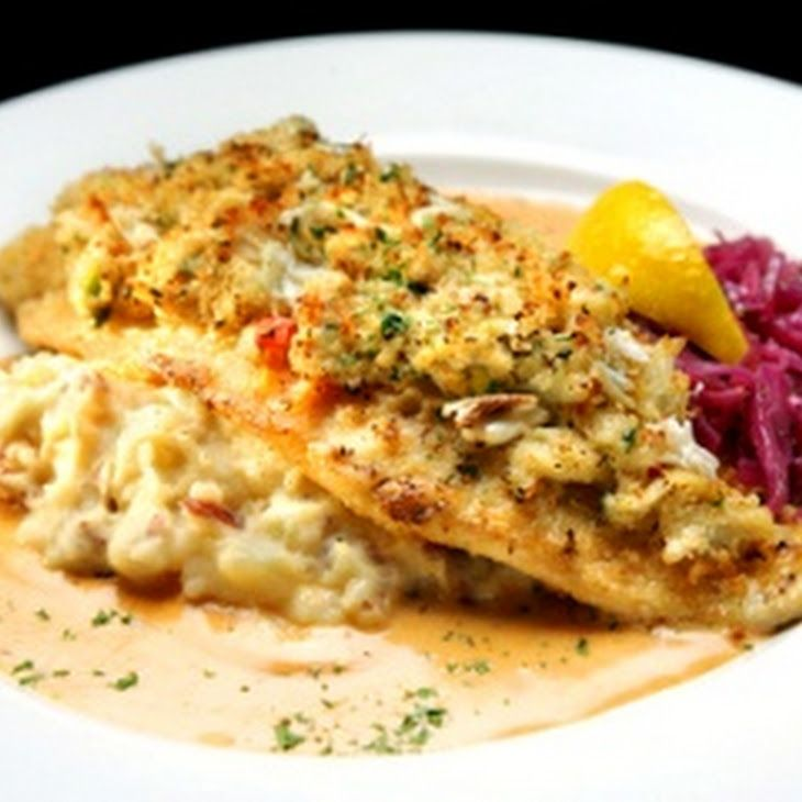 Mahi Mahi W Crab Stuffing Amp Cream Sauce Recipe Fish Recipes Food Recipes Seafood Recipes