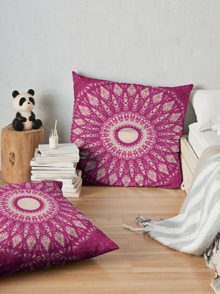 """""""MANDALA NO. 29"""" Floor Pillows by sboara 