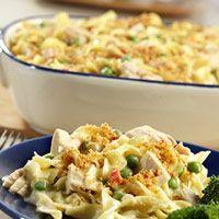 Quick and easy Tuna noodle casserole