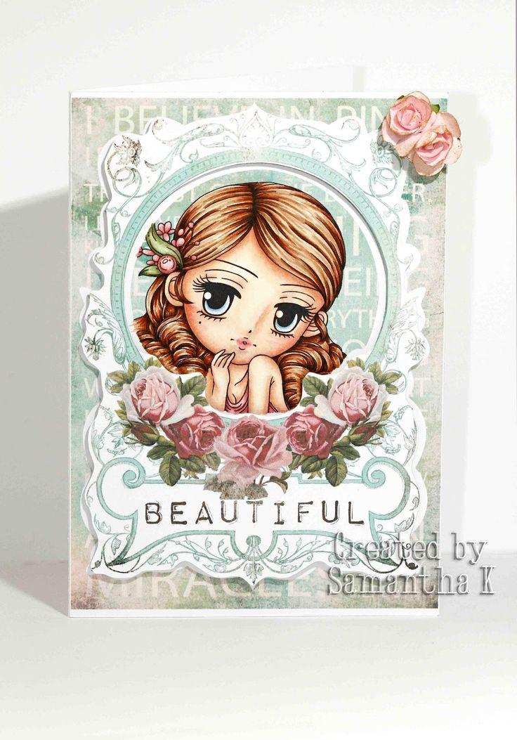 art by miran: Samantha K - Beautiful Bashful Belinda