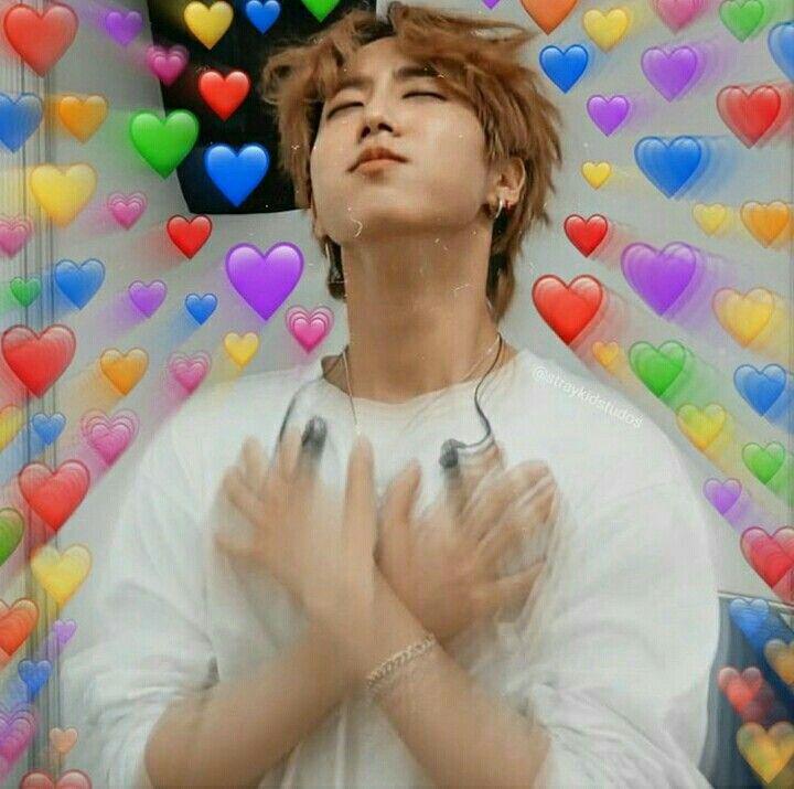 Kpop Heart Meme Stray Kids