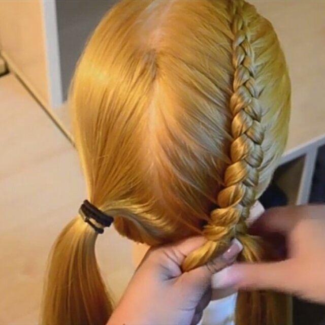 Top 100 hairstyles for straight hair photos Обратная французская коса от @pletemkosy #hairfashion #braids #braidideas #hairstyles #kosyonline #косыкосы #косичкидлядевочек #косички #плетениекосичек #плетениенасебе #французскаякоса #коса #прическившколу #прическинапраздник #прически See more http://wumann.com/top-100-hairstyles-for-straight-hair-photos/