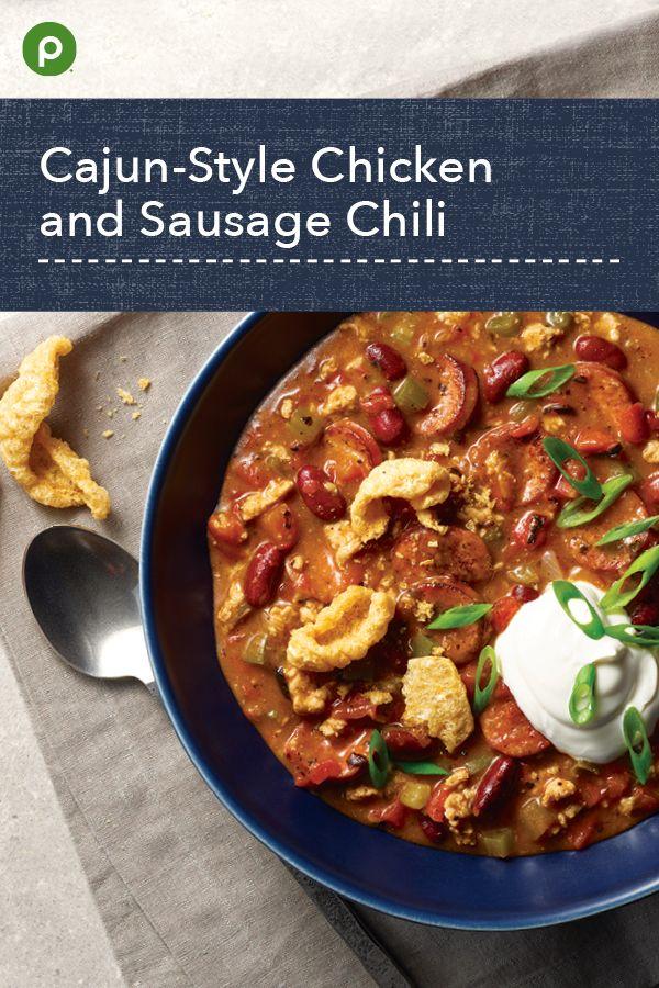 Publix Aprons Cajun Style Chili Recipe Publix Recipes Recipes Health Dinner Recipes