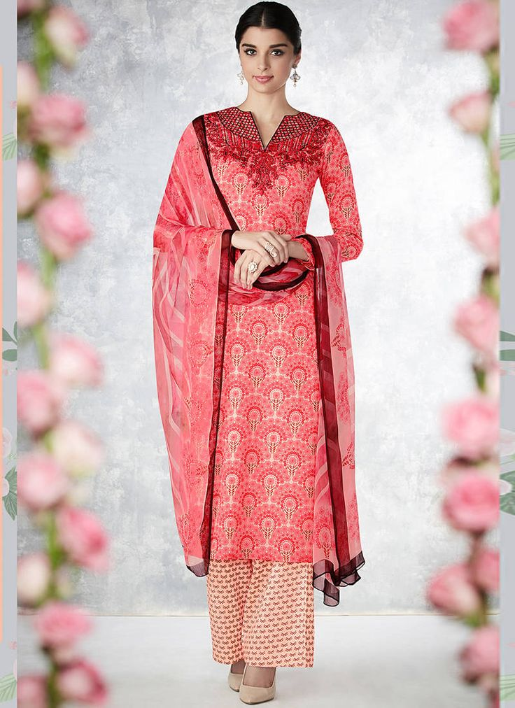 Get Cotton Silk Salwar Suits at exciting discounted Price in India on Mirraw Shopping portal including fast delivery and hassle free returns.