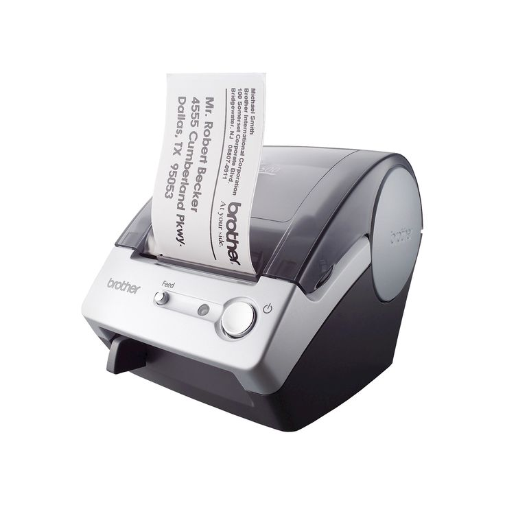 Brother Electric Label Maker, Gray