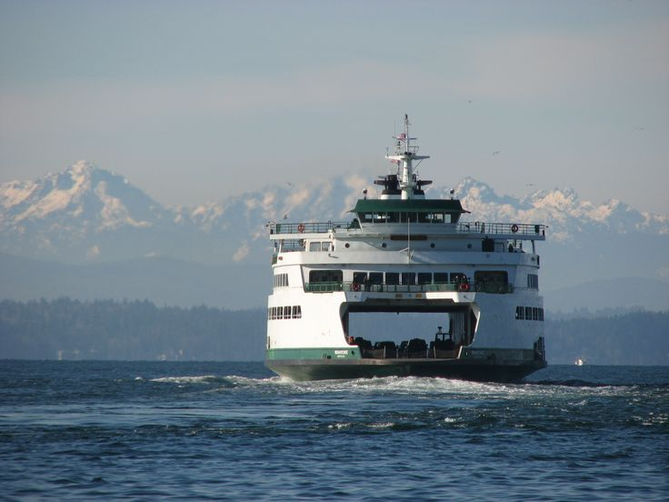 Puget Sound - San Juan Islands - Ferry