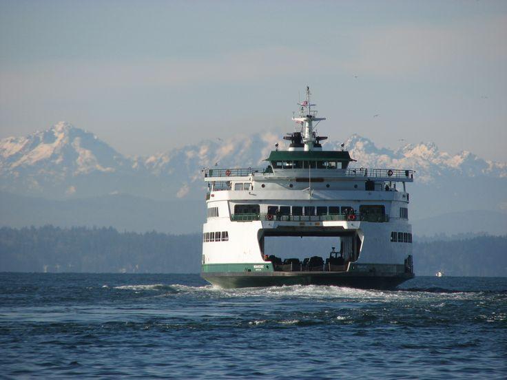 Puget Sound - San Juan Islands - Ferry