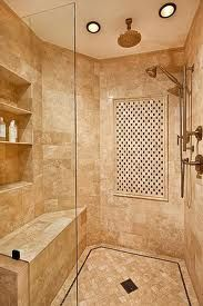 Guest bathroom shower idea