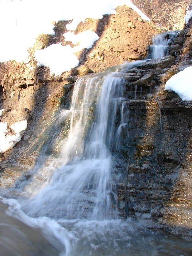 James Falls (also called Read Baker's Falls) in Waterdown section of Hamilton