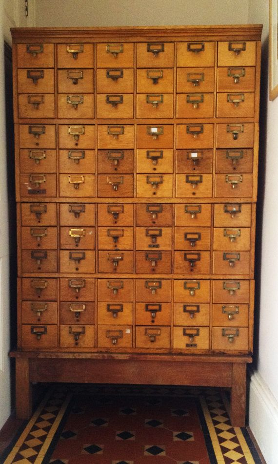 563 best Drawers Galore images on Pinterest | Apothecary cabinet ...