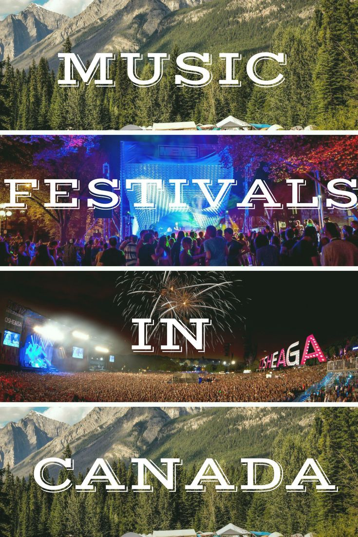 Looking for music festivals in Canada? There are tons of amazing ones to choose from like Shambhala, VELD, and Motion Notion. See you on the dancefloor, eh?