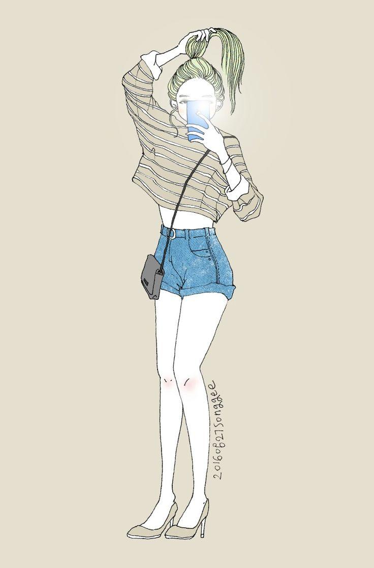 songgee's work  #패션일러스트 #fashion #illustration #illustrator #drawing #digitalart #digitalpainting #painting