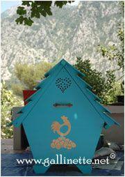 Gallinette® le guide du petit élevage familial de poules pondeuses. Élever des poules, construire et aménager des poulaillers.