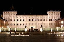 Residences of the Royal House of Savoy - Wikipedia Palazzo Reale (Royal Palace) in Turin.