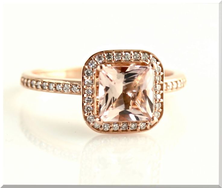 affordable rose gold engagement rings