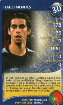 2004 Top Trumps Specials Chelsea #NNO Tiago Mendes Front