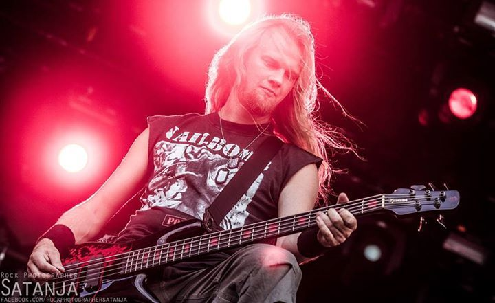 "Stefan ""Pizza"" Eriksson bass 2012-2015"