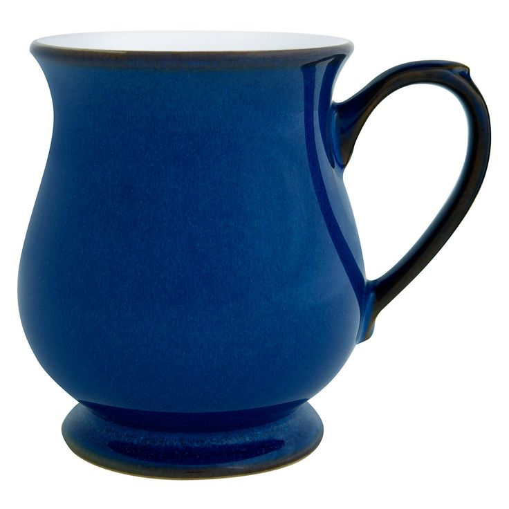 Buy Denby Imperial Blue Craftsman's Mug from our Tableware range at John Lewis. Free Delivery on orders over £50.