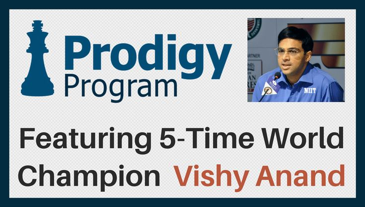 Learn Chess LIVE Online From Five-Time World Chess Champion Vishy Anand! Learn More: https://www.chess.com/blog/GeniusKJ/enroll-in-may-2017-prodigy-program-with-vishy-anand