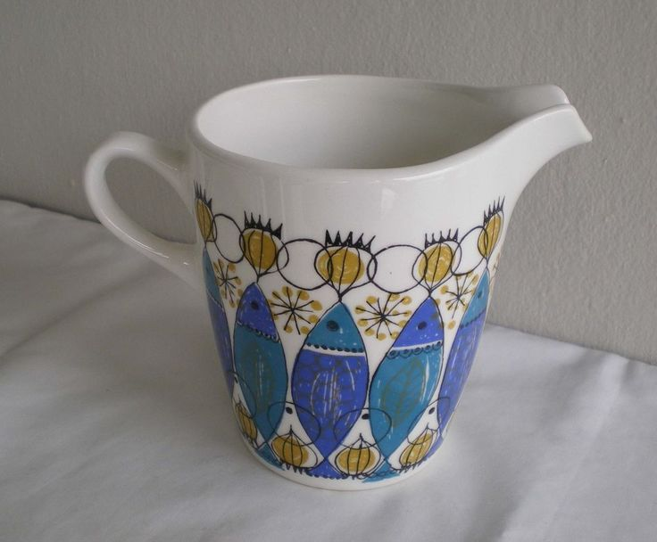 Figgjo Turi Design CLUPEA Creamer Milk Jug Made in Norway