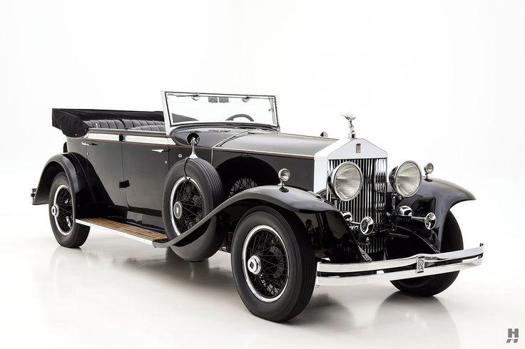 1929 rolls-royce phantom i newmarket phaeton