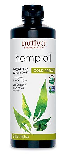 Nutiva Organic Hemp Oil, 24 Ounce