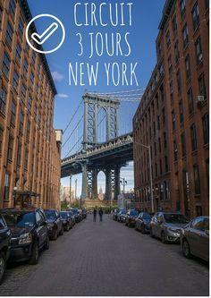 Circuit de 3 jours à New York pour visiter la ville de façon sympa et pas trop cher !
