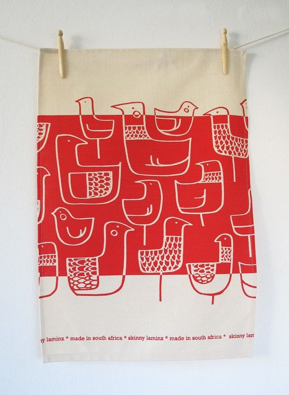 Sweetest tea towel - made in South Africa $15.