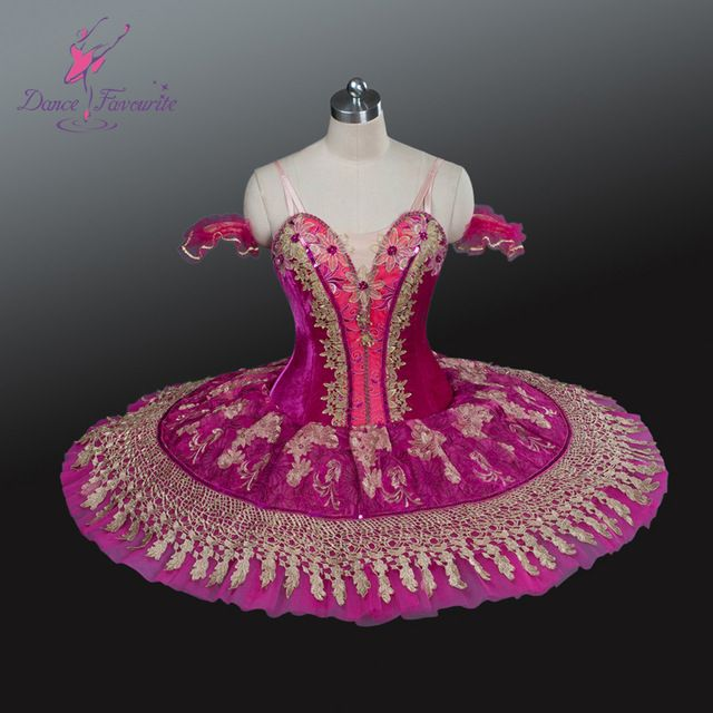 2016 Adulte professionnel classique ballet de danse tutus rose chaud couleur concurrence ballerine tutu robe filles ballet tutus BL-1235