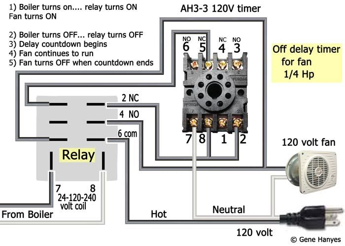 Wiring Diagram For 8 Pin Relay