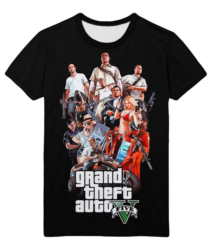 nice T-shirt Gta V 5 Grand Theft Auto Five Game Band Clan Loot Merch  -   #amazon #Apparels #australia #boy #buy #ebay #Female #girls #india #kids #loot #Male #merch #merchandise #purchase #shirts #t-shirts #ukMerch