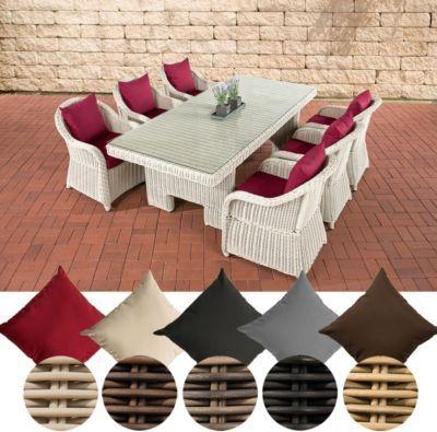 ... 6 X Garten Sessel + Tisch 220 X 100 Cm, 5 Mm Rund Geflecht Jetzt  Bestellen Unter: Https://moebel.ladendirekt.de/garten/gartenmoebel/ Gartenmoebel Set/? ...