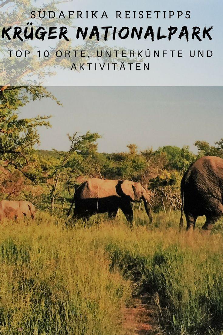 Südafrika Reisetipps: Die schönsten Krüger Nati…