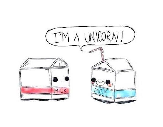 Je suis une licorne ! *Lait* *Lait*