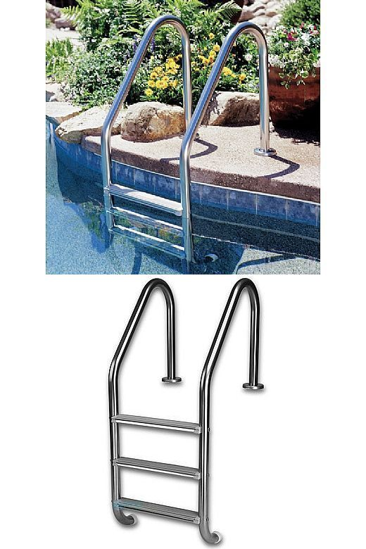 Pool Ladders and Steps 167847: Interfab L3e049p-G 3-Step ...