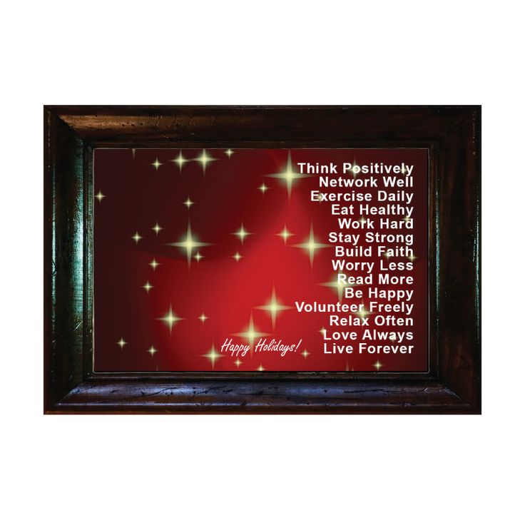 Words for Life - THINK POSITIVE.......Holidays Series  Custom Made Bible Verse/Quote Picture frame from $3.9  Langham Mall, Unit 2333 & 2335, 8339 Kennedy Road, Markham, Ontario, Canada  www.OneOfAKaIND.com