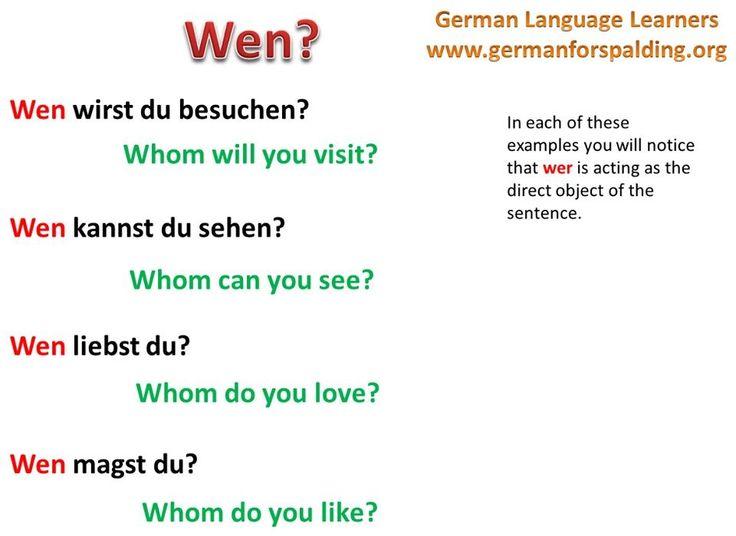 85 best Deutsch images on Pinterest | German grammar, German ...
