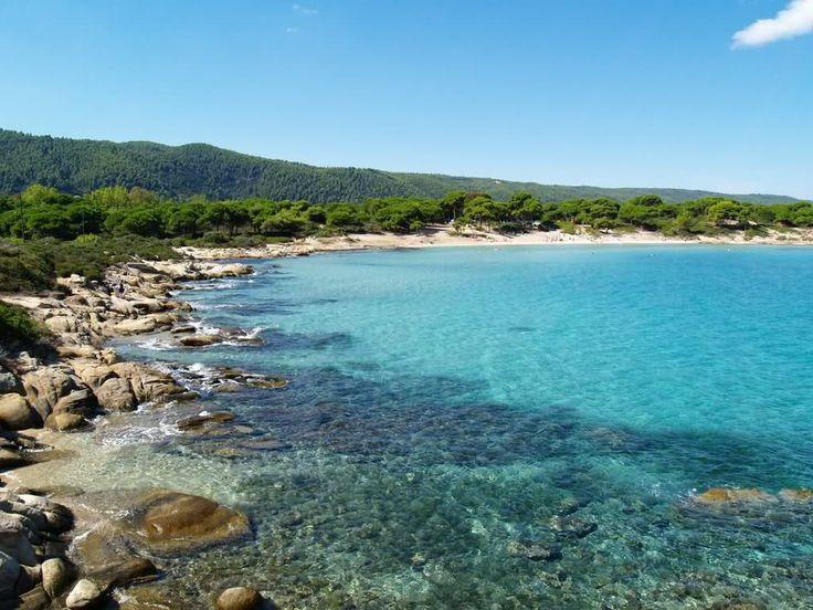 Greece Thessaloniki Beach | Greece, Halkidiki, Karydi Beach: