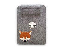 Wollfilz-Tasche für Tablet-PC (9/10 Zoll) - WTF!