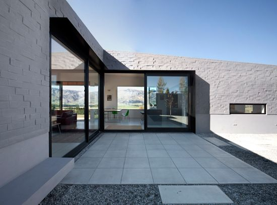 Lake Hawea Courtyard House