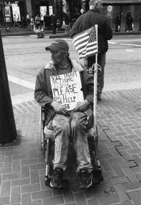 Just like the article's author, I am always so curious as to why there are so many homeless veterans when they have the public's utmost respect and should have benefits since they served.  This article explains the causes like having PTSD as to why at times they don't have benefits and how as a community we can help as well by having weekly coat and tent drives.