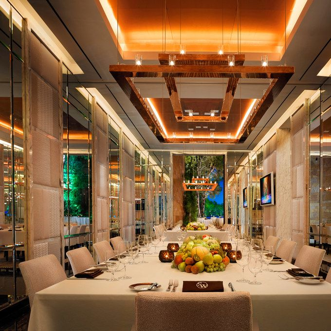 sw steakhouse wynn las vegas redesign - Private Dining Rooms Las Vegas